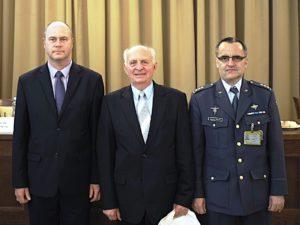 Ing. Vladimír PETR, genpor. doc. Ing. František PODEŠVA, CSc., plk. gšt. Ing. Miroslav BAUER, Ph.D