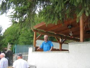 10pplk.v.v. Vilo Moravčík nás pozdravil zo svojho letného sídla v Devíne